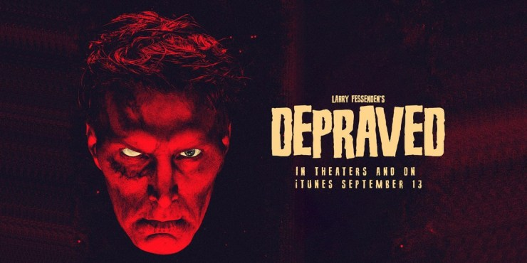 Larry Fessnden's Depraved is a brilliant retelling of Shelley's classic Frankenstein from a genre master.