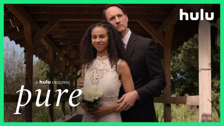 Shay (Jahkara Smith) and her newly discovered dad (Jim Klock) celebrate Daughter's Day in Pure, the latest installment of Into the Dark.