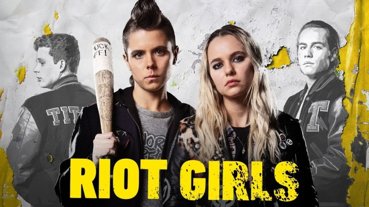 It's the punks versus the Titans in Jovanka Vuckovic's Riot Girls.