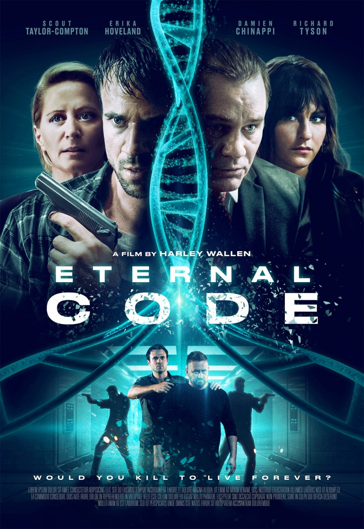 Corporate greed turns deadly in action thriller Eternal Code.